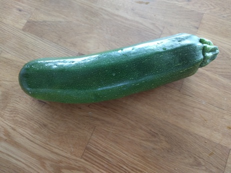 Heirloom Black Beauty Zucchini from our garden.